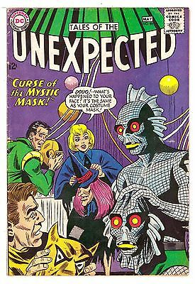 Tales of the Unexpected #88 VG (4.0) DC Comic 1965