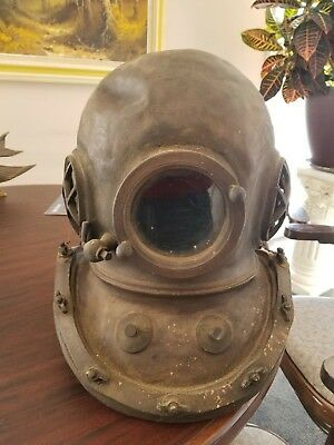 vintage replica scuba diving helmat