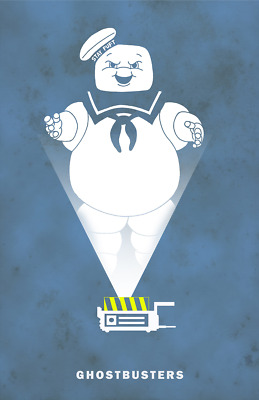 1984 Ghostbusters Alternate Movie Poster/Print > Stay Puft Marshmallow Man