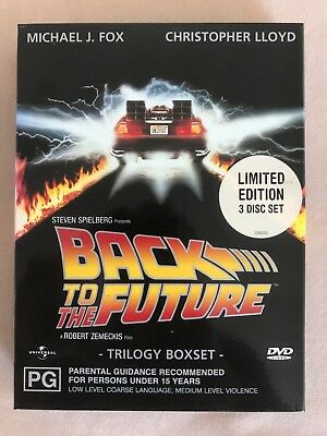 Back To The Future - The Trilogy (DVD, 2002, 3-Disc Set)