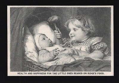 Original 1880s Trade Card - Ridge's Food for Children