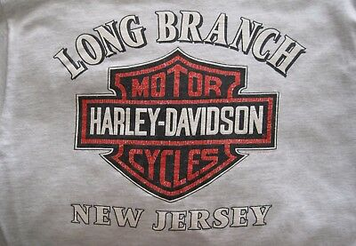 Harley Davidson Pocket T Shirt – Long Branch, New Jersey – Large