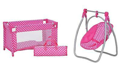 Chad Valley Babies To Love Doll's Sleep, Feed And Travel Set Ideal Kids Gift UK