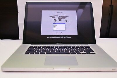 """Apple MacBook Pro 15"""" 2011 2Ghz 8GB 640GB + new battery - used, great condition"""