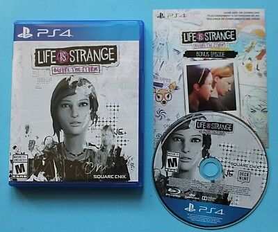 Life Is Strange: Before the Storm (Sony PlayStation 4, 2018) MINT UN-PLAYED