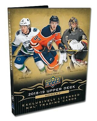 2018-19 Upper Deck Series 1 Hockey Starter Kit - Elias Pettersson Young Gun?