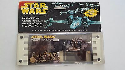 Star Wars Filmcell ANH Chewbacca Special Edition Limited, Signed and Numbered