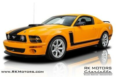 2007 Mustang Saleen Parnelli Jones 302 2007 Ford Mustang Saleen Parnelli Jones 302 Grabber Orange Hardtop 5.0 Liter 5 S