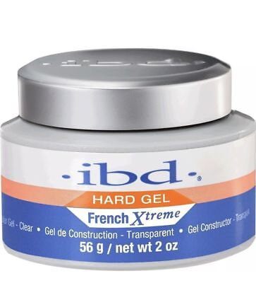 ibd Hard Gel French Xtreme Builder Gel Clear 56g 2oz #39022