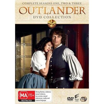Outlander Complete Collection DVD Box Set Series 1 2 & 3 BRAND NEW 17-DISC SET