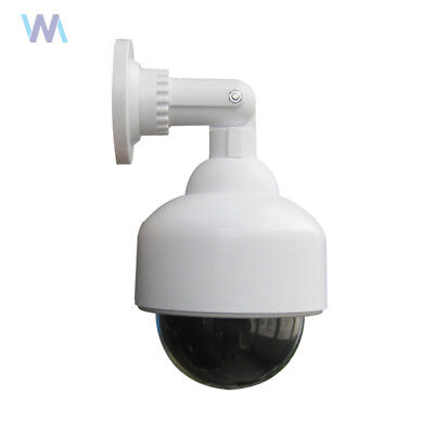 Dummy Camera Outdoor Dome Fake Security Camera With Blinking Light Led