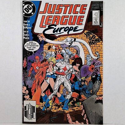 Justice League Europe - No. 3 - DC Comics Inc. June 1989 No Reserve!