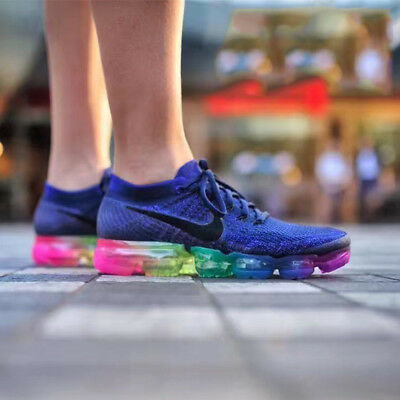 Nike Air Max VaporMax Flyknit BeTrue Sneakers Men''s Running Shoes