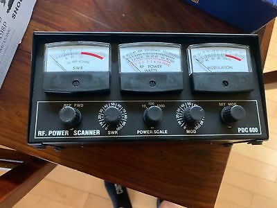 Para-Dynamics PDC600 RF Power Scanner  PDC-600 CB  SWR/POWER/ MODULATION METER