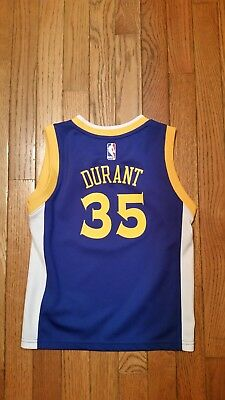 e3c983e70dd KEVIN DURANT Golden State Warriors Toddler YOUTH Kids 5-6 Jersey Adidas