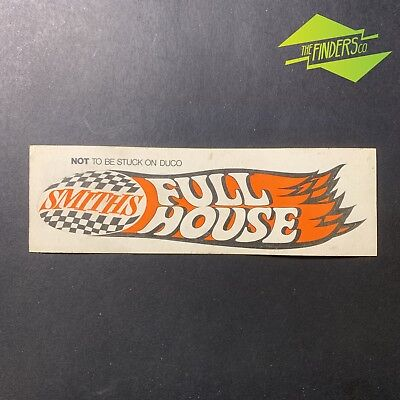 Rare Vintage 'smiths Full House' Automotive Gauge Racing Sticker Decal Holden