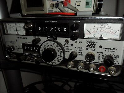 IFR Marconi 500A Radio Communications Service Monitor Fully Functional to 1 GHz