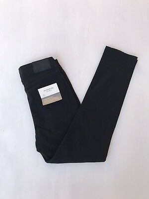 AG Adriano Goldschmied The Stryker Luxe Jeans Slim Straight Black Size 10 Boys