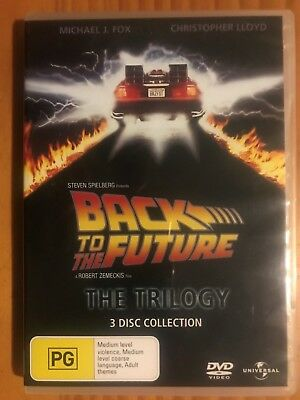 Back To The Future : The Trilogy - (3 Disc Set, Region 2 + 4 , PAL Format)