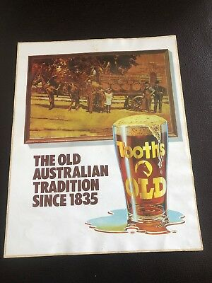 Tooths Old Beer Sticker