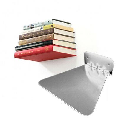 1pcs Modern Iron Book Shelf Wall Invisible Bookshelf For Home Decoration New