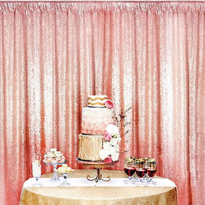 Shimmer Sequin Restaurant Curtain Wedding Photobooth Backdrop Party
