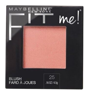 Maybelline ~ Fit Me! Blush ~ #25 Pink ~ New/Sealed ~ Rrp $15.95 ~