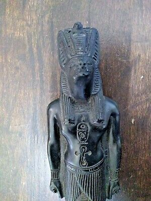 Egyptian Anubis Obsidian-type stone  Statuette - made in Egypt