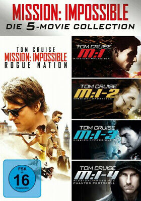 Mission: Impossible - 5 Movie Collection (5 Discs) (Film) NEU