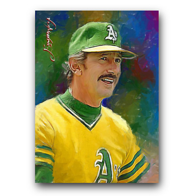 Billy Martin #32 Sketch Card Limited 9/50 Edward Vela Signed