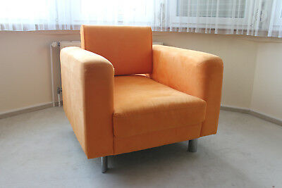 Nube Sessel Orange Ital Design Wellness Toller Blickfang