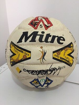 Ultra Rare Melbourne Phoenix 2002/2003 Commonwealth Bank Trophy Signed Netball