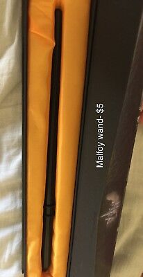 Harry Potter - Draco Malfoy Wand Prop Replica New & Official In Ollivanders Box