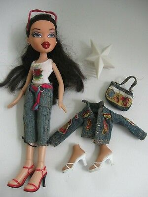 BRATZ DOLL Funk Out YASMIN doll clothes, shoes, bag accessories - sunglasses