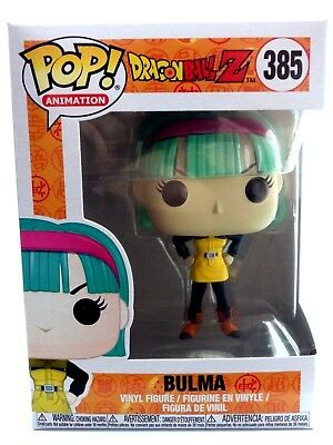 FUNKO POP Vinyl Figure Figurine ANIMATION No. 385 BULMA DRAGON BALL Z