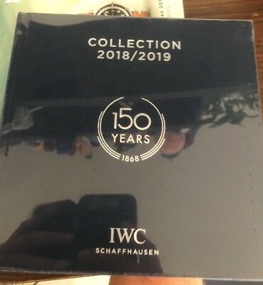 IWC collection 2918 / 2019 Press Guide SIHH 2018