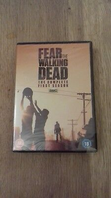 Fear The Walking Dead Complete 1st Season Dvd Brand New & Factory Sealed