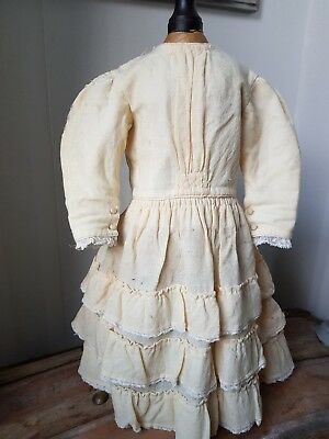 Antique Doll Factory Original Dress..