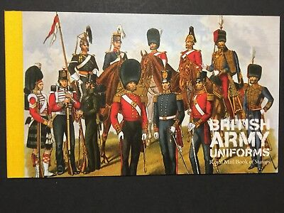 UK GB stamp Royal Mail book of stamps 2007. Theme British Army Uniforms
