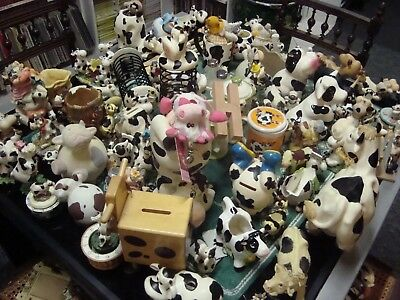 Collection Figurine De Vache Recent Et Vintage- Une Centaine Environ