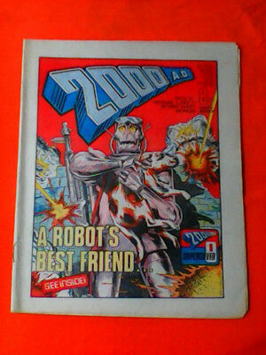 2000ad comic prog 19 VG/FINE condition.