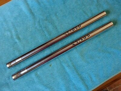 SUZUKI, OEM, GS1000, GS 1000, a pair of Fork Legs, Stanchions, Tubes, 1978, 1979