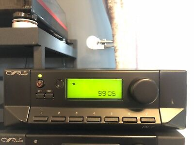 MISSION CYRUS 7 / FM7 FM STEREO TUNER - Smooth Black