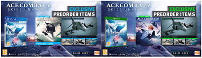 Ace Combat 7: Skies Unknown Exclusive Pre-Order Items pack DLC CODE for ps4 game