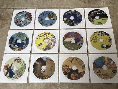 Weekly Reader Children's CD Lot of 12, Learning, Home School, CDs Only