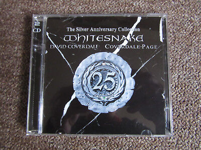 """2 x CD WHITESNAKE - """"Silver Anniversary Collection"""" (2003)"""