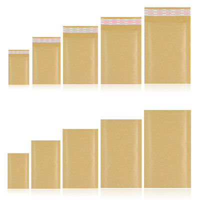 Branded Padded Bubble Envelopes Gold Bags Sizes - A000, B00, D1, F3, G4, K7