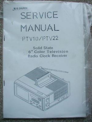 Solid State Service Manual PTV10 / PTV22