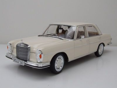 Mercedes Benz 280 Se Sedan W108 Blanco Ivory 183569 1:18 Norev  New