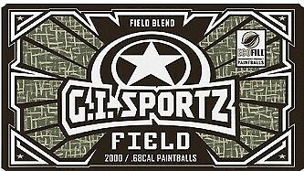 100 Stück G.I. Sports Cal.50 Paintballs